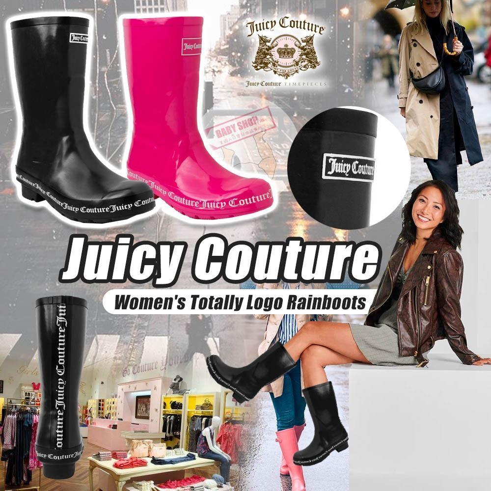 圖片 *貨品已截單* A P4U 8底: Juicy Couture 女裝雨靴