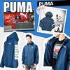 圖片 *貨品已截單* A P4U 8底: PUMA Zip-Up 風褸(藍色)