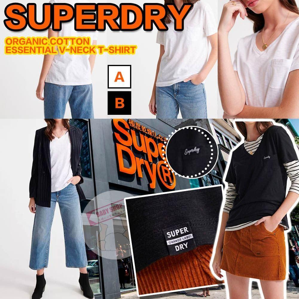 圖片 *貨品已截單* A P4U 8底: Superdry V領女裝短袖