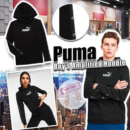 圖片 A P4U 8底: Puma Amplified 中童衛衣(黑色)