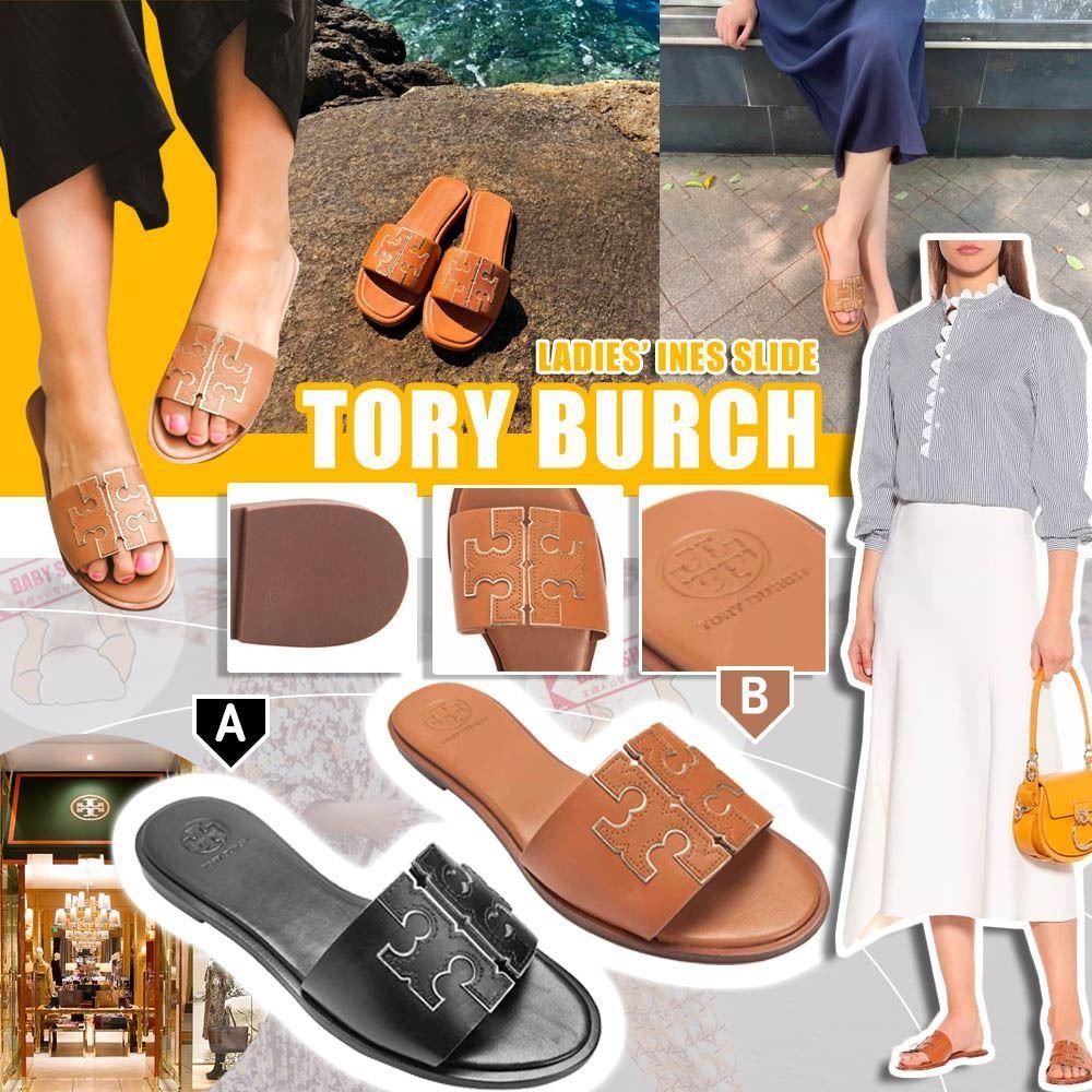 圖片 **貨品已截單**A P4U 8底: Tory Burch Ines 女裝經典涼拖