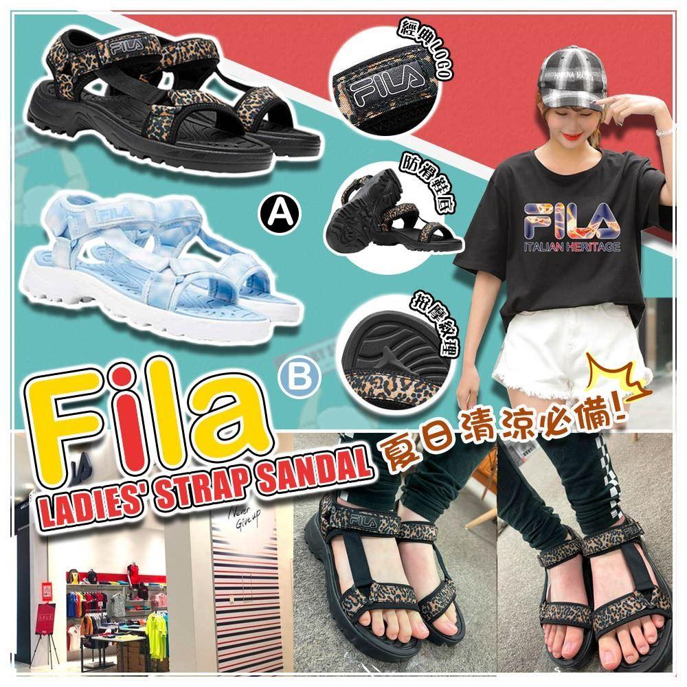 圖片 **貨品已截單**A P4U 8底: Fila Strap 女裝涼鞋