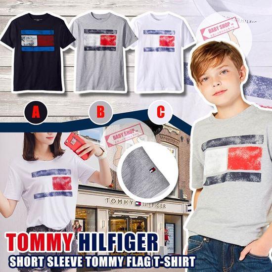 圖片 **貨品已截單**A P4U 9中: Tommy Hilfiger 中童夏日大LOGO上衣