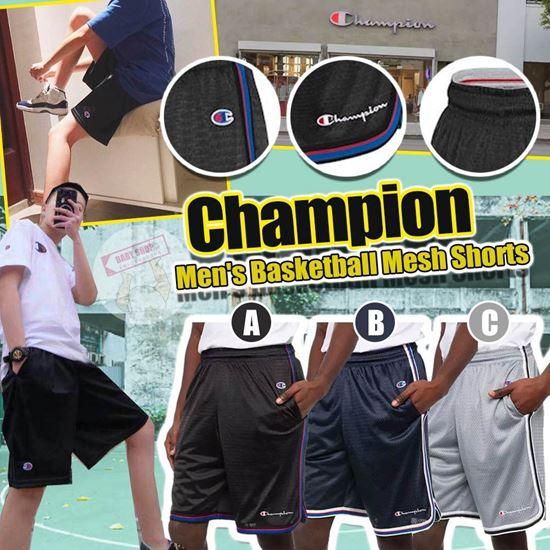 圖片 **貨品已截單**A P4U 9中: Champion 透氣男裝涼感短褲