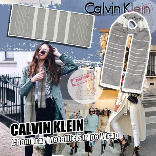 圖片 **貨品已截單**A P4U 9中: CALVIN KLEIN 頸巾
