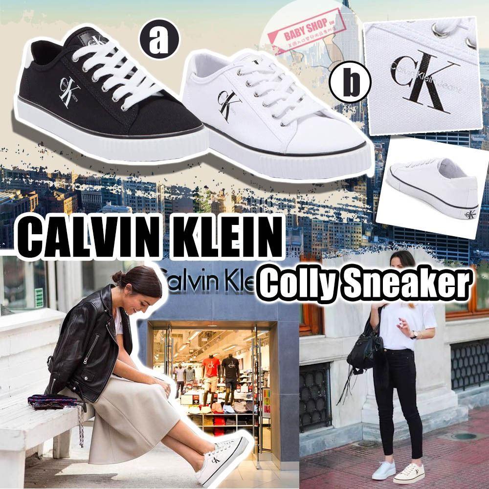 圖片 **貨品已截單**A P4U 9中: CALVIN KLEIN 帆布波鞋