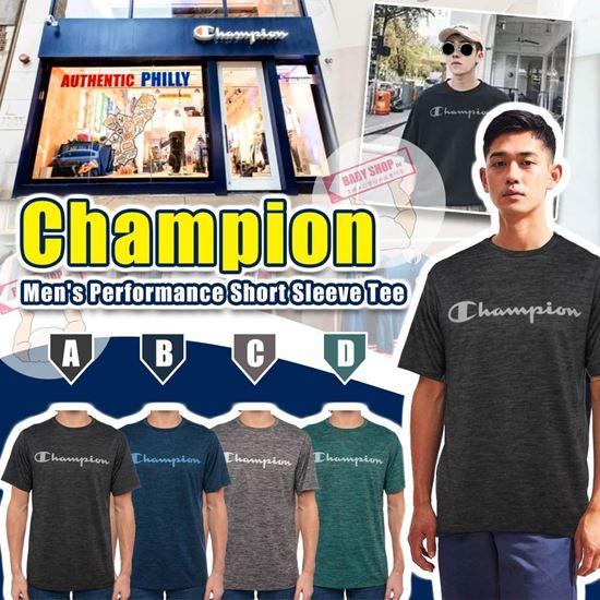 圖片 **貨品已截單**A P4U 9中: Champion 男裝橫字Logo短Tee