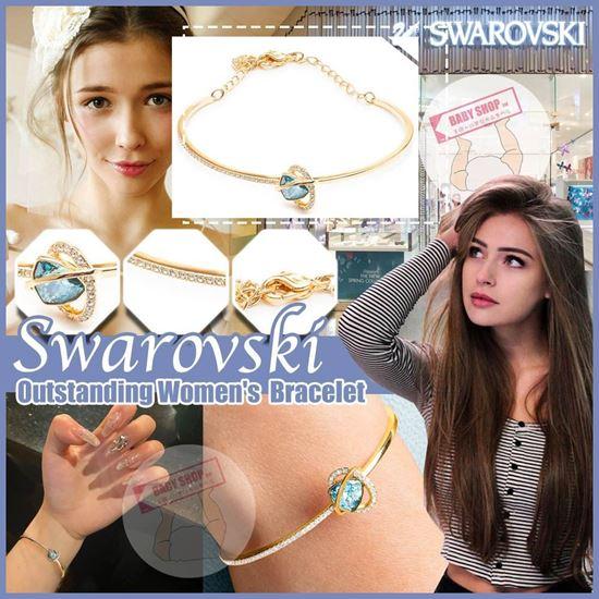 圖片 **貨品已截單**A P4U 8底: Swarovski 水晶藍色寶石手鏈