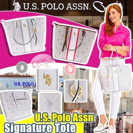 圖片 **貨品已截單**A P4U 空運: U.S. POLO ASSN. 經典Logo托特包