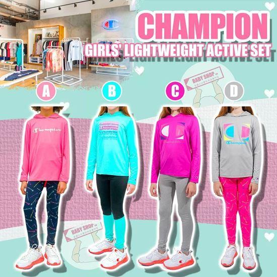 圖片 **貨品已截單**A P4U 9底: Champion 輕便女童運動套裝