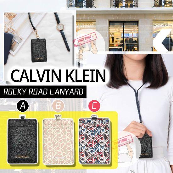 圖片 *貨品已截單* A P4U 空運: Calvin Klein 長帶掛頸卡套