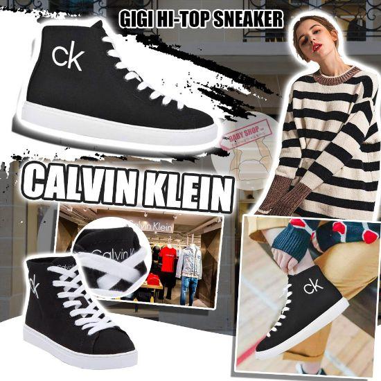 圖片 *貨品已截單* A P4U 9底: Calvin Klein 高筒運動鞋(黑色)