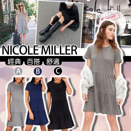 圖片 *貨品已截單* A P4U 9底: Nicole Miller 有袖連身裙