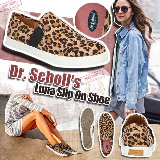 圖片 **貨品已截單**A P4U 9底: Dr. Scholl's 女裝豹紋平底鞋