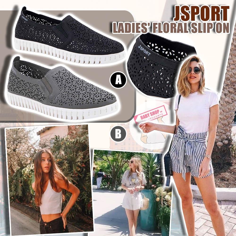 圖片 *貨品已截單* A P4U 9底: JSport 女裝休閒平底鞋