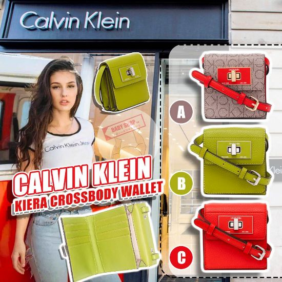 圖片 **貨品已截單**A P4U 空運: Calvin Klein Kiera 斜咩銀包