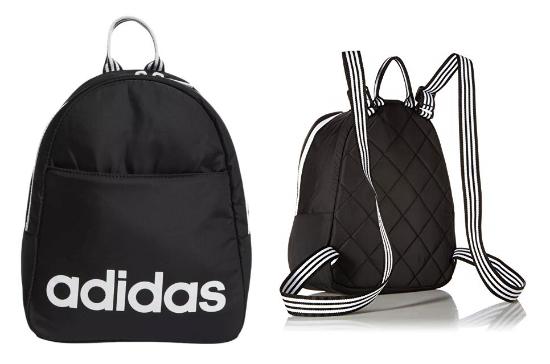 圖片 Adidas LOGO經典迷你背包 黑色