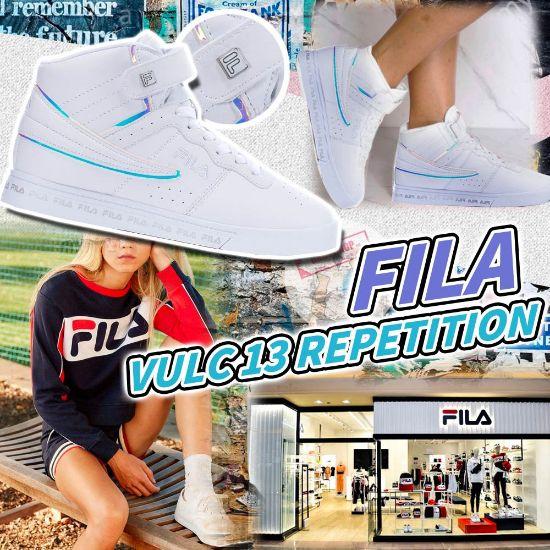 圖片 **貨品已截單**A P4U 9底: Fila 女裝高筒運動鞋