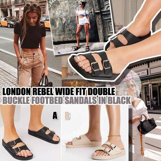 圖片 *貨品已截單* A P4U 9底: London Rebel 女裝拖鞋