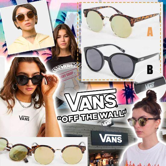 圖片 **貨品已截單**A P4U 9底: Vans 女裝太陽眼鏡
