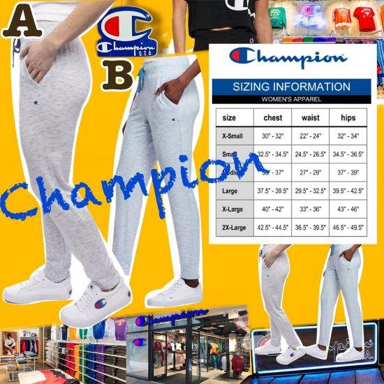 圖片 **貨品已截單**A P4U 10中: Champion 女裝側Logo扎染運動褲
