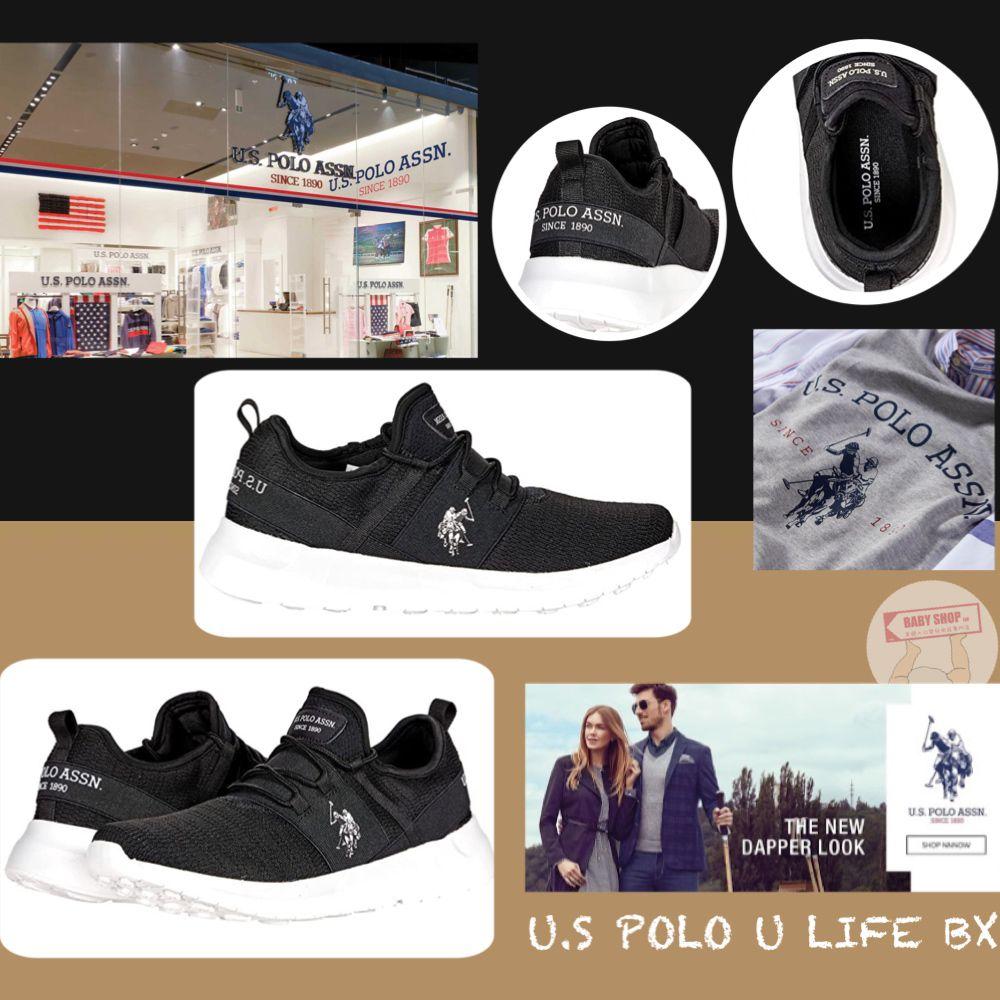 圖片 *貨品已截單* A P4U 10中: US Polo Assn 男裝休閒運動鞋(黑色)