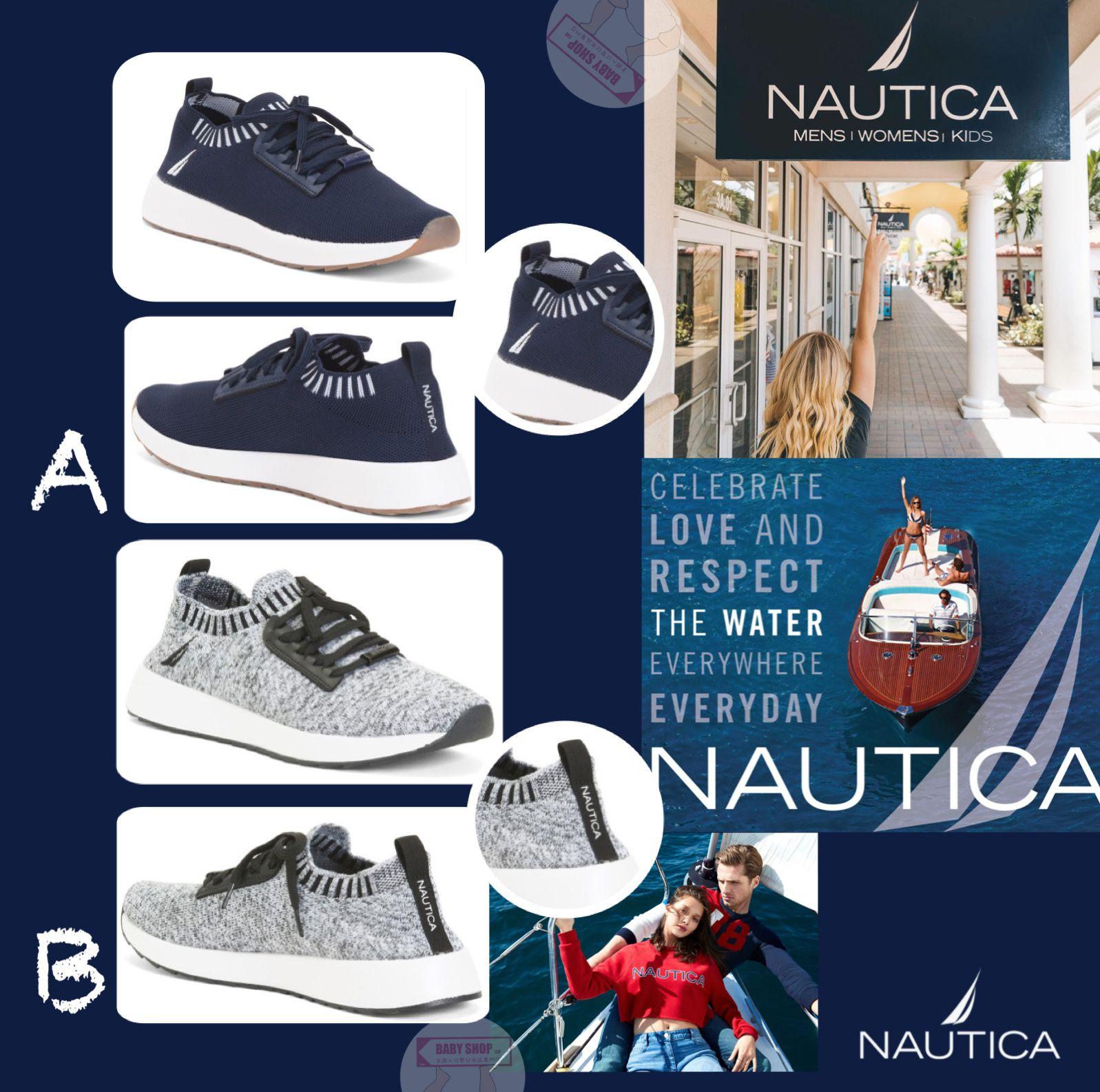 圖片 *貨品已截單* A P4U 10中: Nautica Knit 女裝休閒波鞋