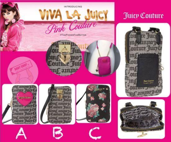 圖片 **貨品已截單**A P4U 10中: Juicy Couture Top Zip Cellie