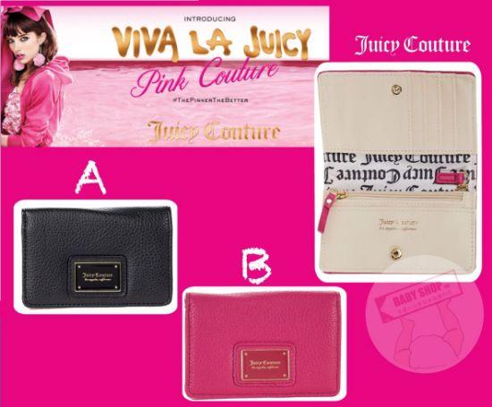 圖片 **貨品已截單**A P4U 10中: Juicy Couture 方形銀包