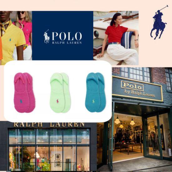 圖片 **貨品已截單**A P4U 10中: Polo Ralph Lauren 女裝短襪