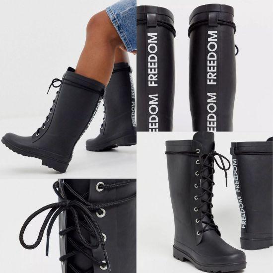 圖片 *貨品已截單* A P4U 10中: ASOS Design 女裝雨靴 US 6