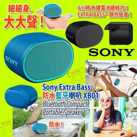 圖片 **貨品已截單**A P4U 10中: Sony 防水藍牙喇叭(藍色)