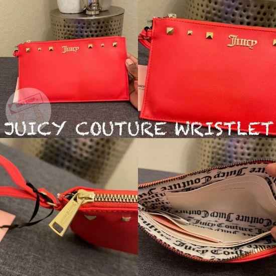圖片 **貨品已截單**A P4U 10中: Juicy Couture 紅色長銀包
