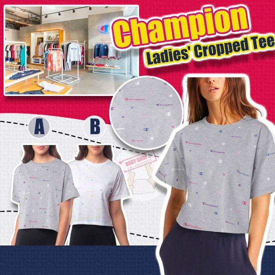 圖片 **貨品已截單**A P4U 10中: Champion 女裝短款上衣