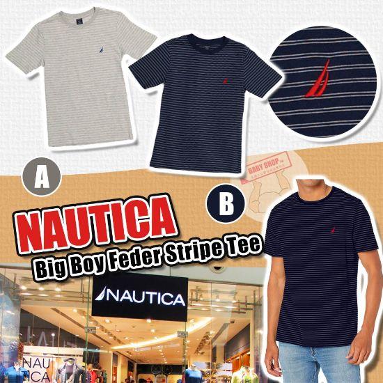 圖片 **貨品已截單**A P4U 10底: Nautica 中童橫條短袖衫