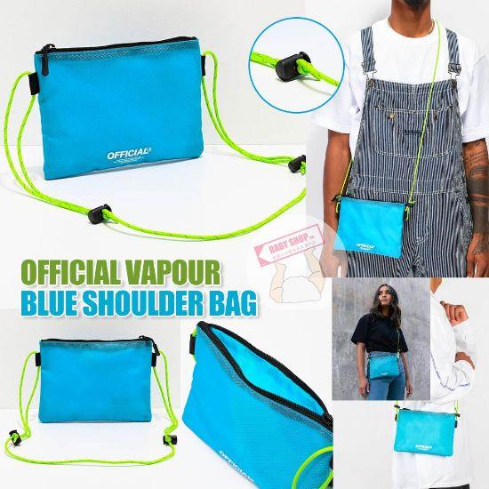 圖片 **貨品已截單**A P4U 10底: Official Vapour 藍色斜咩袋