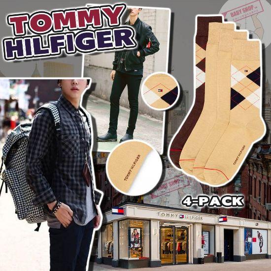 圖片 A P4U 10底: Tommy Hilfiger 男裝4對長襪