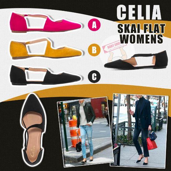 圖片 **貨品已截單**A P4U 10底: CELIA 女裝休閒平底鞋