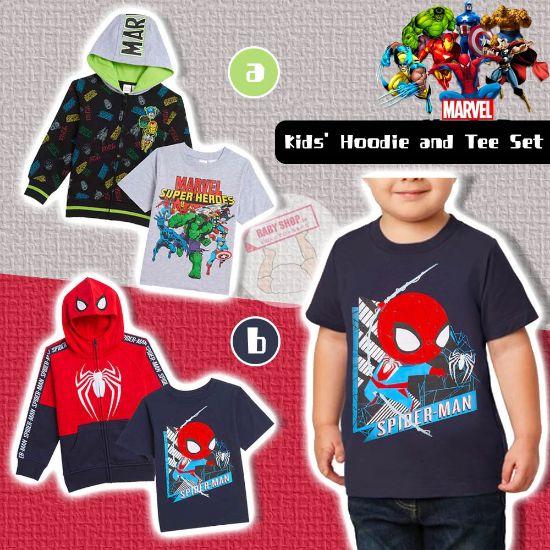 圖片 **貨品已截單**A P4U 10底: Kid's Hoddie Set 卡通外套連衫褲套裝