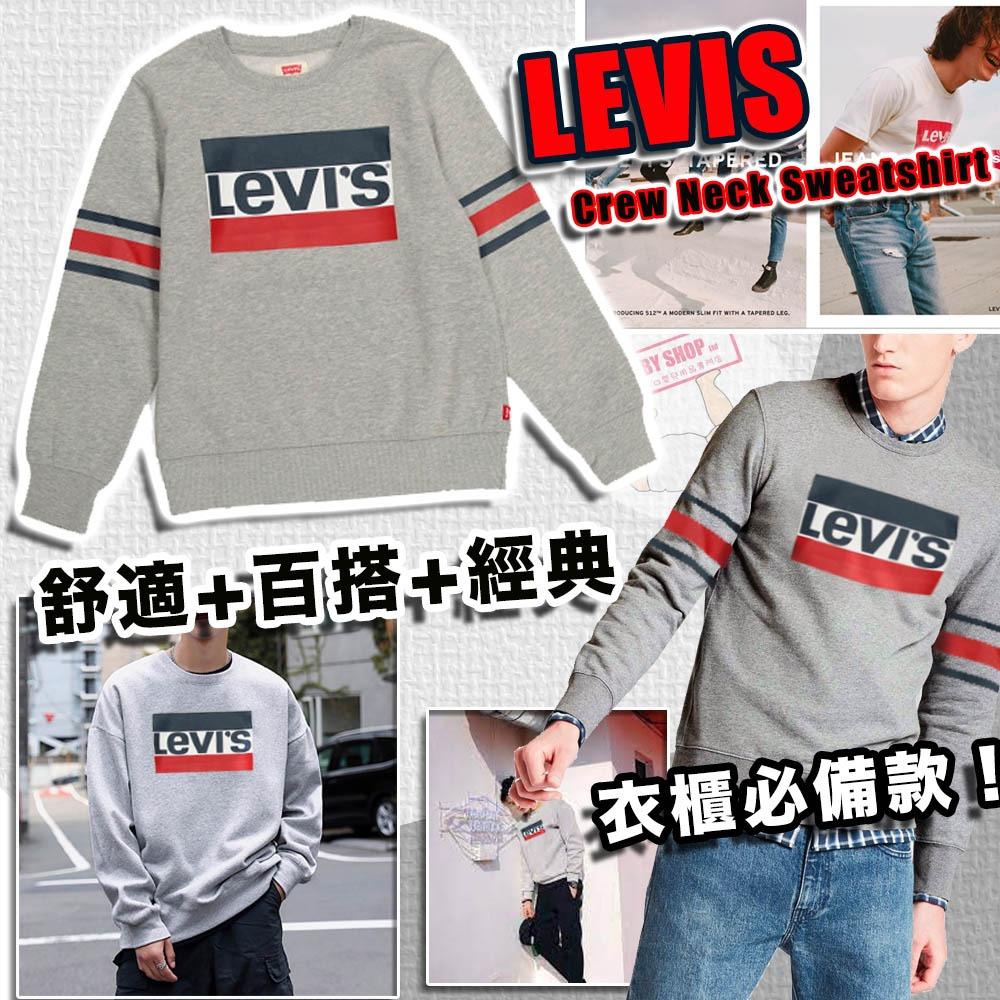 圖片 **貨品已截單**A P4U 10底: Levis Logo 中童長袖衛衣
