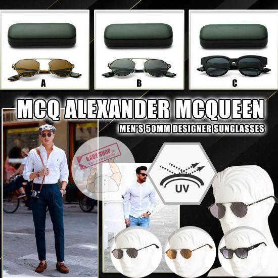 圖片 **貨品已截單**A P4U 10底: MCQ ALEXANDER MCQUEEN 男裝50mm墨鏡