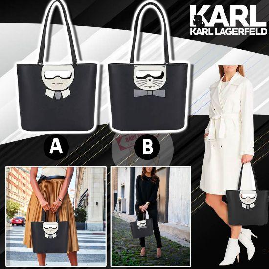 圖片 **貨品已截單**A P4U 空運: Karl Lagerfeld Paris Maybelle Tote 手提包包