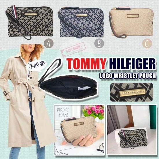 圖片 **貨品已截單**A P4U 空運: TOMMY HILFIGER 腕帶Logo短銀包