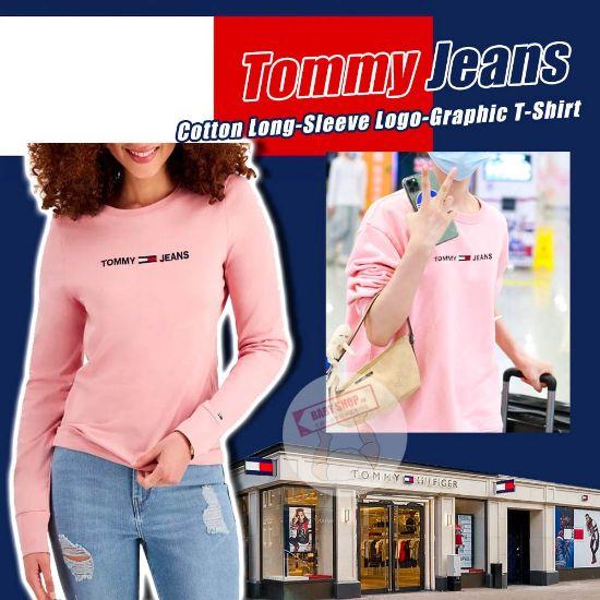 圖片 **貨品已截單**A P4U 10底: Tommy Hilfiger 女裝長袖圓領上衣 S
