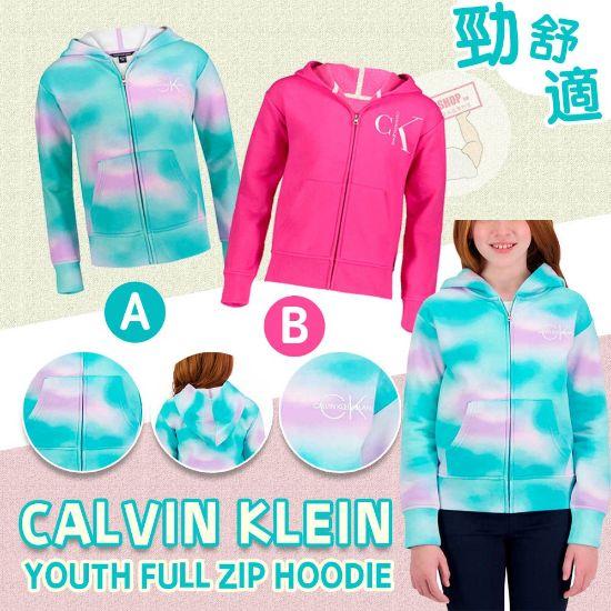 圖片 *貨品已截單*A P4U 11中: Calvin Klein 中童拉鏈外套