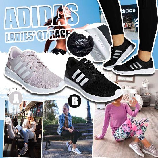 圖片 *貨品已截單*A P4U 11中: Adidas QT 女裝網狀運動鞋