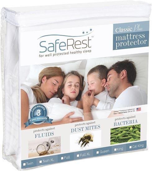 圖片 SafeRest 經典輕薄 防水抗過敏床單