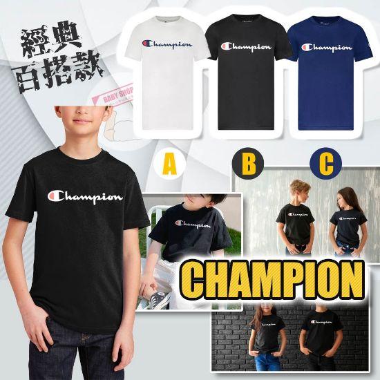 圖片 *貨品已截單*A P4U 11中 : Champion 童裝草字Logo短袖 Tee