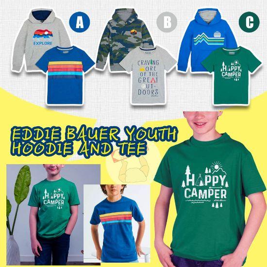 圖片 *貨品已截單*A P4U 11中 : Eddie Bauer 男童2件套裝