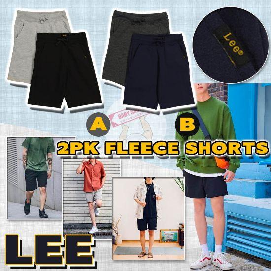 圖片 *貨品已截單*A P4U 11中 : LEE 男裝短褲(1套2條)